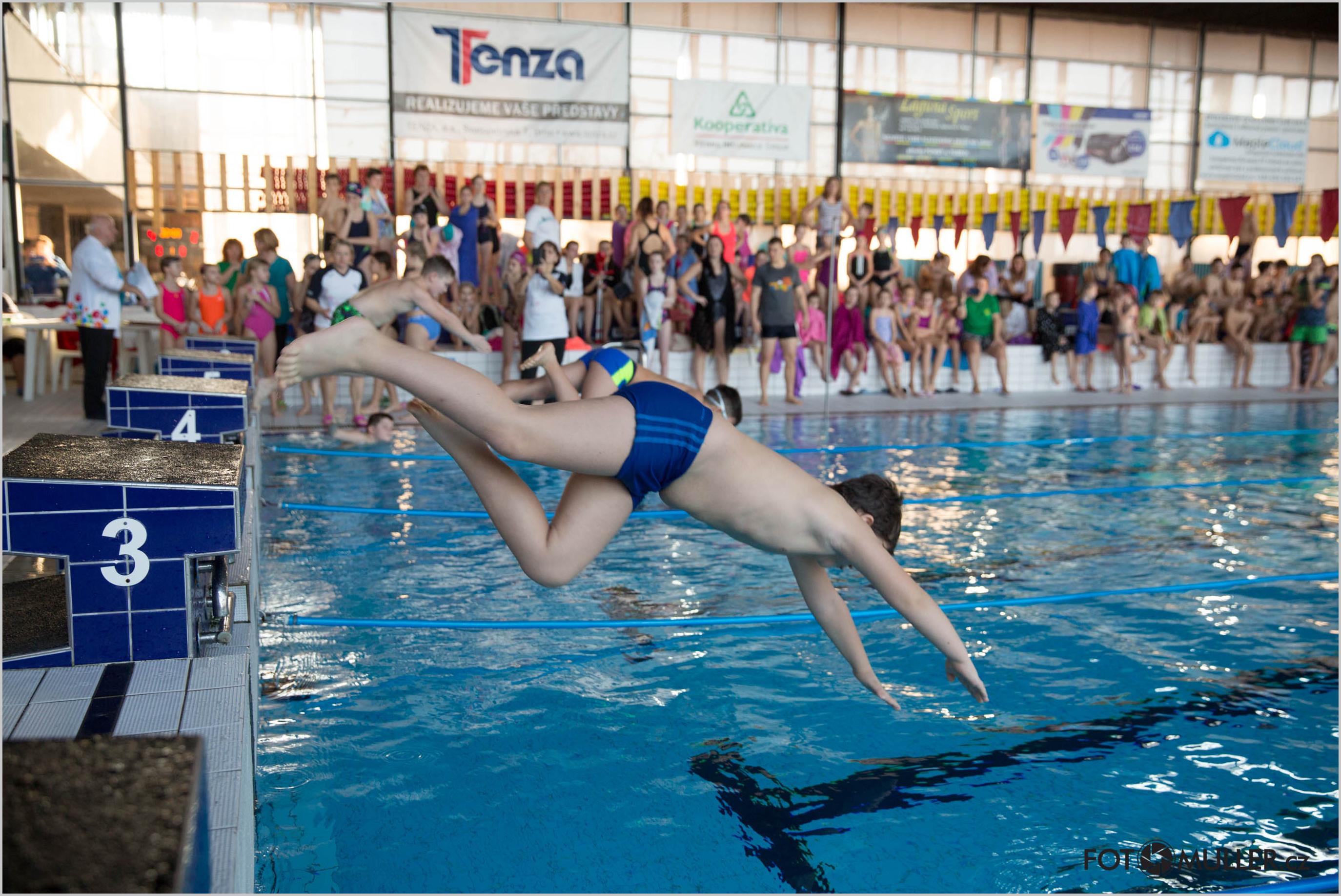 Přebor v plavání 2020